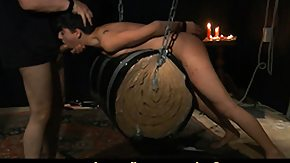 Dungeon, BDSM, Blowjob, Brunette, Fetish, Punishment