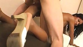 Carmella Woods HD porn tube He's eager to bend ebony cutie Carmella Woods over for hot interracial sex