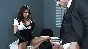 Rebeca Linares, 3some, Big Cock, Big Tits, Blowjob, Boobs