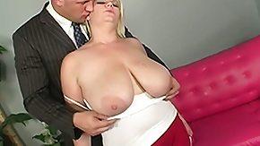 Big Natural Tit, BBW, Big Tits, Blonde, Blowjob, Boobs