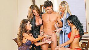 Hunter Bryce, Aunt, Big Cock, Big Tits, Blonde, Blowjob
