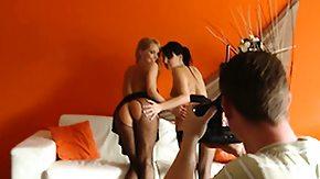Stacy Da Silva, Babe, Blonde, Brunette, Feet, Fetish