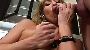 Blonde Cougar, Blonde, Blowjob, Cougar, Cum, Cum Drinking