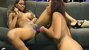 Ebony Lesbians, Black, Black Lesbian, Dildo, Ebony, Hardcore