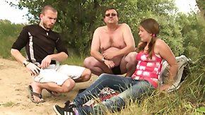Fat Mature, 3some, Amateur, BBW, Brunette, Chubby