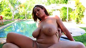 Titty Fuck, Big Tits, Boobs, Brunette, Costume, Fucking