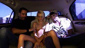 Kacey Jordan, Babe, Blonde, Blowjob, Car, Cumshot