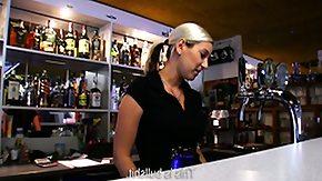 Bar, Amateur, Bar, Blonde, Cigarette, Reality