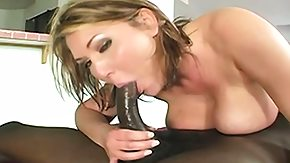 Driving, Big Tits, Blonde, Blowjob, Hardcore, Interracial