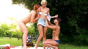 Russian Lesbian, 3some, Babe, Blonde, Czech, Feet