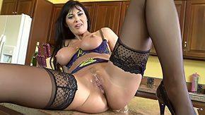 Big Tits Masturbation, American, Aunt, Bend Over, Big Tits, Blowjob