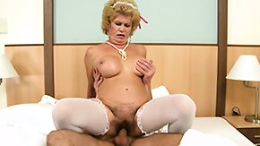 Hairy Grannies, Big Tits, Blonde, Blowjob, Boobs, Experienced