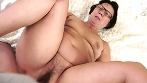 Grandma, Ass, BBW, Big Cock, Blowjob, Chubby