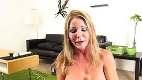Amber Michaels, Big Tits, Blonde, Boobs, Masturbation, Mature