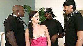Gangbanged, Banging, Black Orgy, Black Swingers, Brunette, Gangbang