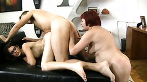 Granny, 3some, Anal, Ass, Assfucking, Blowjob