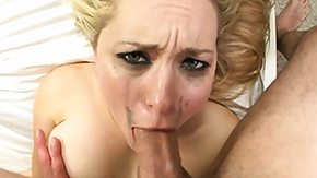 Babe Rough, Blonde, Blowjob, Choking, Cumshot, Deepthroat