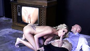 Full, Big Cock, Blonde, Blowjob, French Teen, Huge