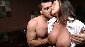 Blouse, Big Tits, Boobs, Brunette, Mature, Mature Big Tits