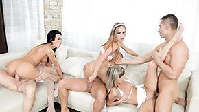 Swingers, Beauty, Blonde, Blowjob, Brunette, Group