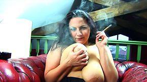 HD Cigar Sex Tube Well-built Newcomer Cigar Smokin' Fetish With Mellie D
