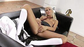 Nylon, Amateur, Babe, Blonde, High Definition, Leggings