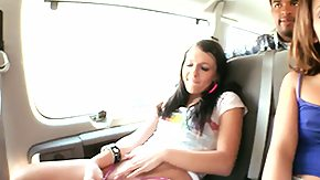 Car, 3some, Amateur, Babe, Brunette, Car
