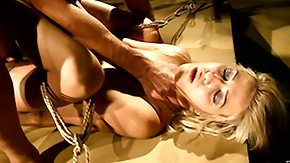 Dungeon, Banging, BDSM, Blonde, Blowbang, Blowjob