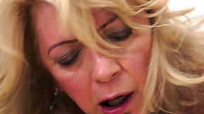 Blonde Cougar, Babe, Blonde, Cougar, Crying, Hardcore