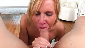 Aria Austin, Amateur, Blonde, Blowjob, Cumshot, Deepthroat