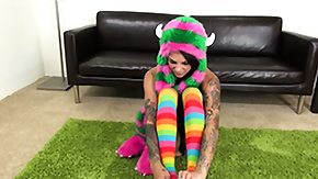 Bonnie Rotten, Big Tits, Boobs, Masturbation, Solo, Tattoo