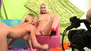 Michelle Love, Babe, Blonde, Fucking, Lesbian