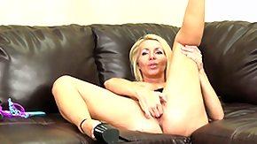 Lisa, Big Tits, Blonde, Boobs, Dildo, Granny Big Tits