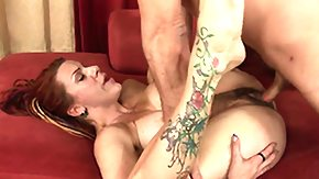 Diaper High Definition sex Movies Bosomy redhead gets banged in her nappy unshaved snatcher-doodle