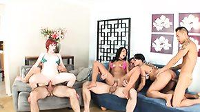 Zoey Nixon HD porn tube Mahina Zaltana Ember James further Zoey Nixon thrashing in a hardcore orgy