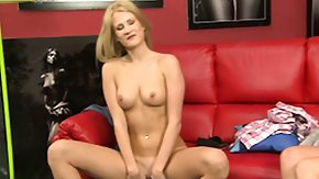 Free Nikita Blonde HD porn videos Suggestive babe Nikita Blonde in a casting scene shows hot body and slick slit