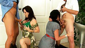 Alia Janine, 4some, Best Friend, Big Cock, Big Tits, Blowjob