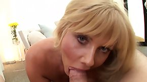 Watching, Blonde, Blowjob, Mature, MILF, On Her Knees