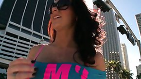 Jayden Jaymes, Babe, Brunette, Florida, Handjob, Outdoor