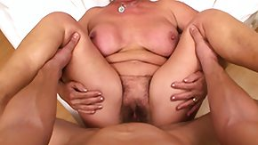 Hairy Mature, Big Tits, Blowjob, Boobs, Creampie, Drilled