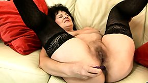 Granny, Anal, Anal Toys, Assfucking, Asshole, Big Tits