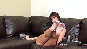 Sofa, Amateur, Big Tits, Boobs, Brunette, Masturbation