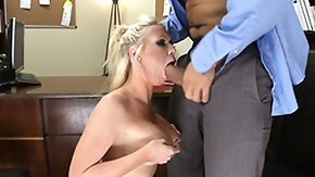 Secretary, Big Tits, Blonde, Blowjob, Boobs, Office