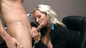 Secretary, Big Tits, Blonde, Blowjob, Boobs, Hardcore