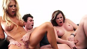 Cum On Body, 3some, Anal, Assfucking, Big Tits, Blonde
