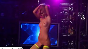 Club HD tube Group of party young women stripped down as well as naughty in a club