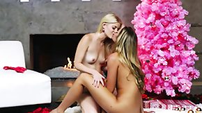 Stokings, Blonde, Fingering, High Definition, Lesbian, Pornstar