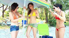 Brandi Belle, Banging, Bikini, Brunette, CFNM, Comic
