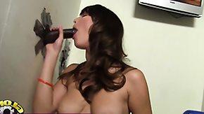 Interracial Facial, Big Cock, Big Tits, Blowjob, Boobs, Brunette