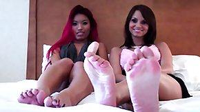 Feet, Babe, Blonde, Brunette, Feet, Fetish